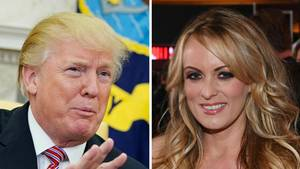 US-Präsident Donald Trump und Pornostar Stormy Daniels