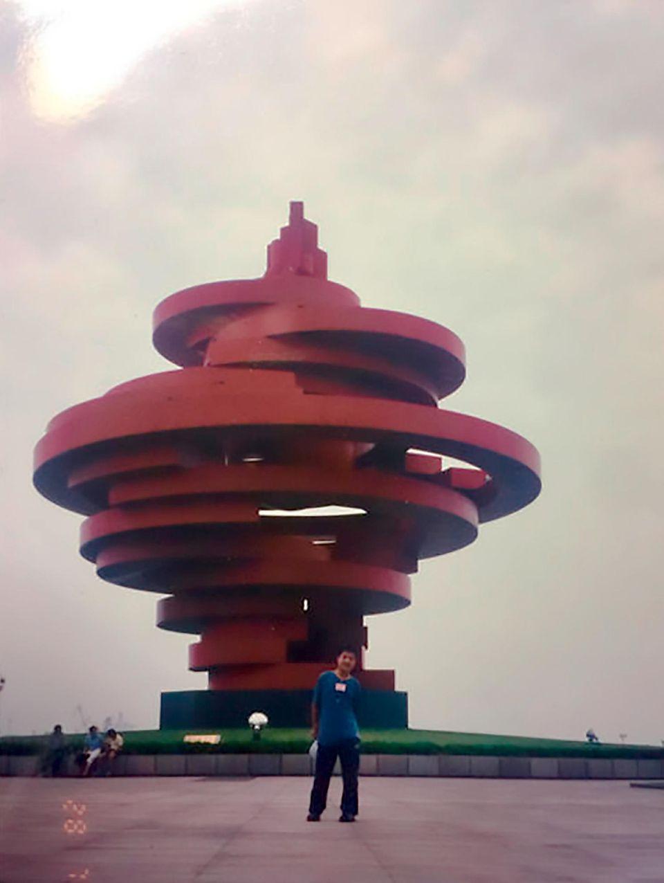 Ye in Qingdao - am selben Tag im Jahr 2000