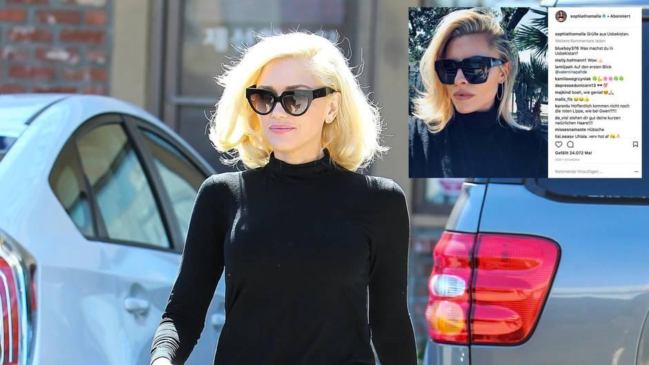 Wirbel um Foto: Macht Sophia Thomalla jetzt einen auf Gwen Stefani?