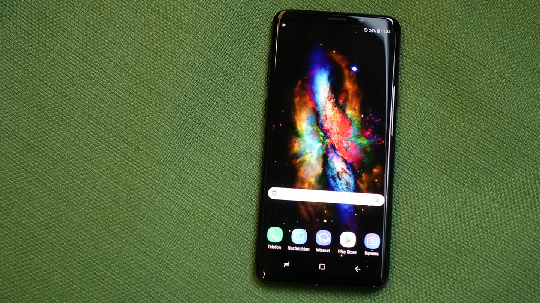 Das Display des Galaxy S9 Plus ist riesig