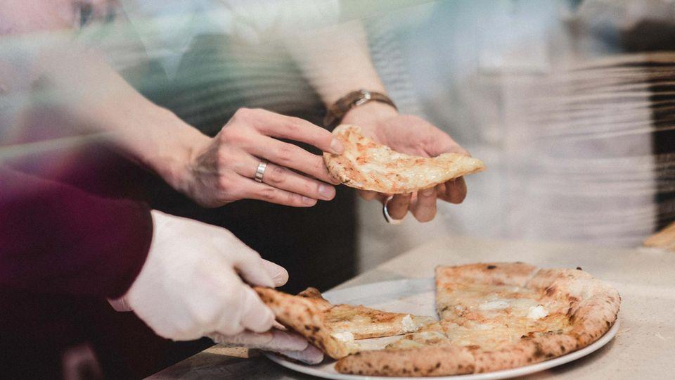 Käse Pizza
