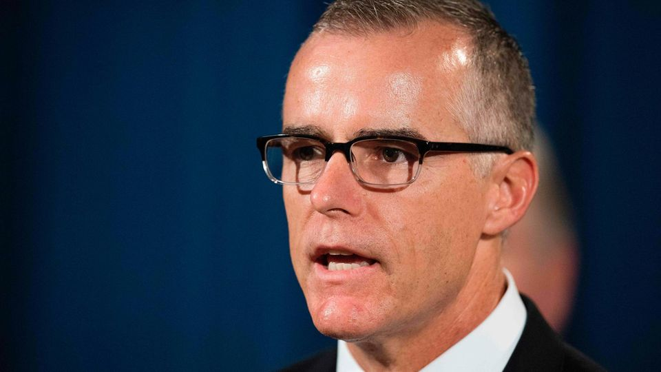 Keine vollen Pensionsansprüche, zwei Tage fehlten: Ex-FBI-Vize McCabe
