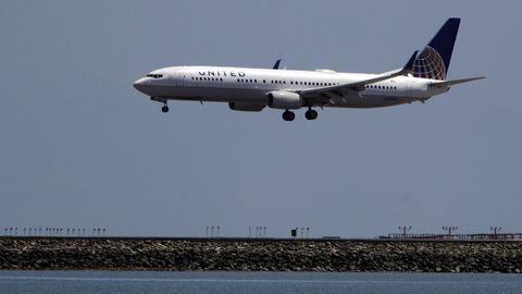 Flugzeug der Fluglinie United Airlines