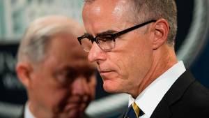 FBI-Vizedirektor McCabe ist entlassen worden