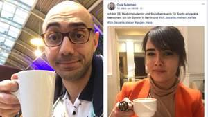 Ich bezahle meinen Kaffee: Zwei Syrer kontern auf Facebook gegen die AfD-Hetze