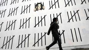 Banksy-Wandbild in New York