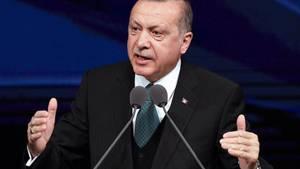Recep Tayyip Erdogan: Afrin ist unter türkischer Kontrolle