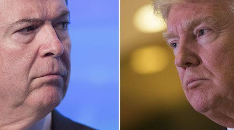 James Comey, längst nicht mehr FBI-Boss, will aber auspacken - Donald Trump feuert gegen alles, was ihm gefährlich werden könnte
