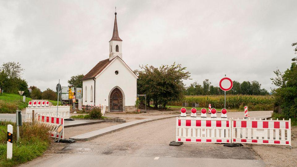 Die St. Laurentius-Kapelle in Unterflossing