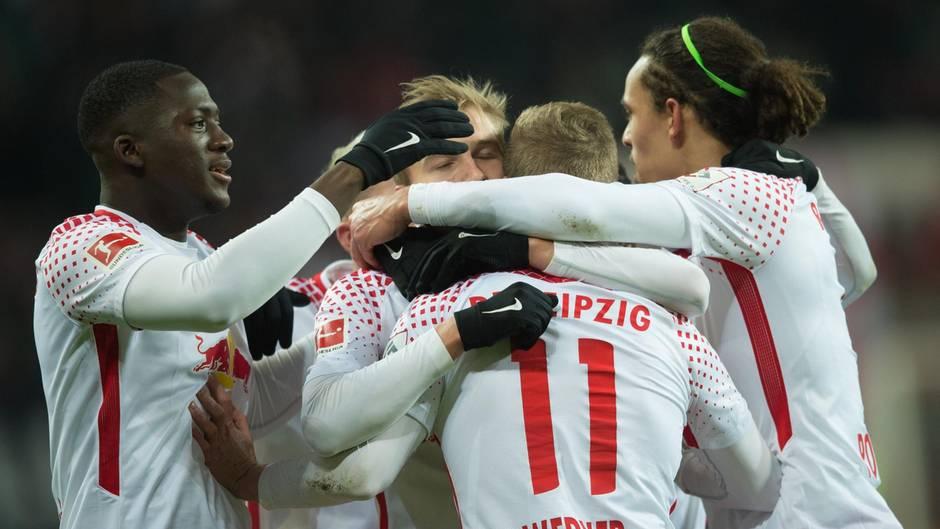Mit seinem Tor zum 2:1 beendete Leipzigs Timo Werner nicht nur seine Torflaute, sondern auch die Siegesserie der Bayern