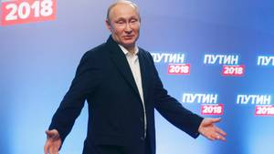 Russlands wiedergewählter Präsident Wladimir Putin