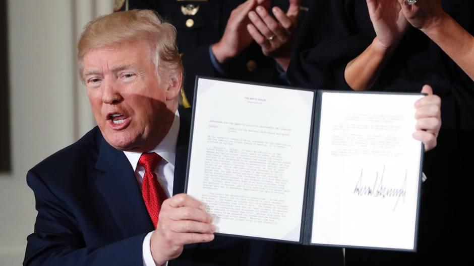 Trump will Todesstrafe für Drogenhändler