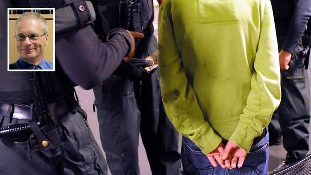 Kommunikationswissenschaftler Hans-Bernd Brosius und die Festnahme eines Jugendlichen (Wahrnehmung von Jugendkriminalität)