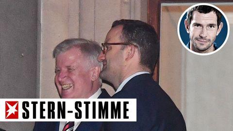 Horst Seehofer (CSU) und Jens Spahn (CDU)
