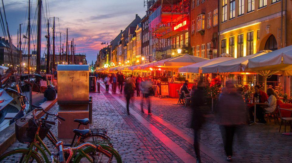 Platz 8: Die skandinavische Stadt gilt als fünfteuerste in Europa: Kopenhagen steht auch bei Städtereisenden aus Deutschland hoch im Kurs.