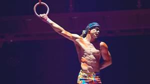Yann Arnaud im vergangenen Jahr bei einer Show des Cirque du Soleil in Toronto
