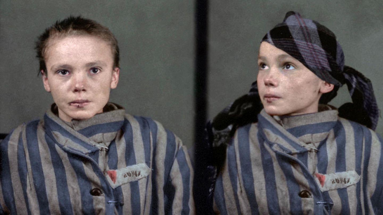 Auschwitz Czesława Kwoka KZ koloriert