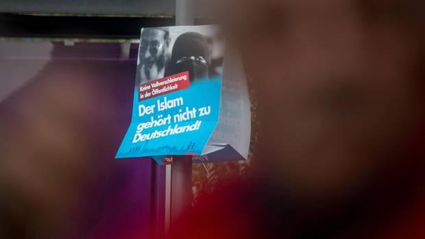 AfD-Wahlplakat: Der Islam gehört nicht zu Deutschland