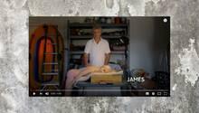 James und April in der Channel4-Sexpuppen-Doku