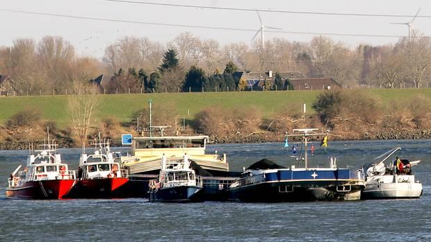 Nachrichten aus Deutschland: Schiffskollision bei Xanten
