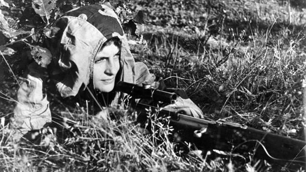 Keiner der deutschen Scharfschützen war ihr gewachsen.