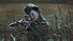 Julija Sergejewna Peressild spielt die berühmte Schützin in dem Film.