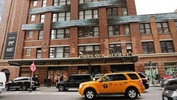 Chelsea Market in Manhattan ist für seine Markthalle bekannt