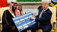 donald trump - mohammed bin salman