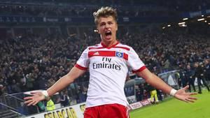 Youngster Fiete Arp vom Hamburger SV