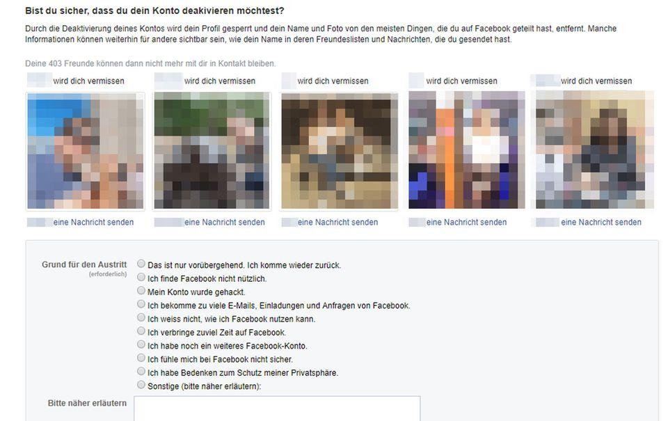 Facebook-Account löschen: Wie Sie Mark Zuckerberg den Rücken kehren