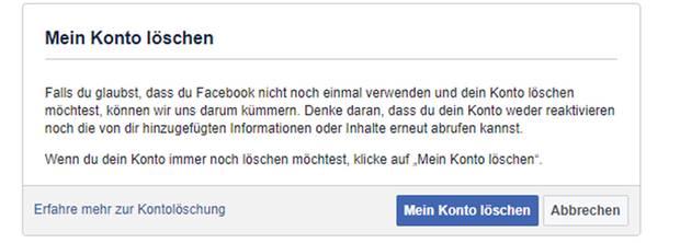 Facebook Account Löschen Eine Schritt Für Schritt Anleitung Sternde