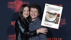 "Millie Bobby Brown und Gaten Matarazzo von ""Stranger Things"""