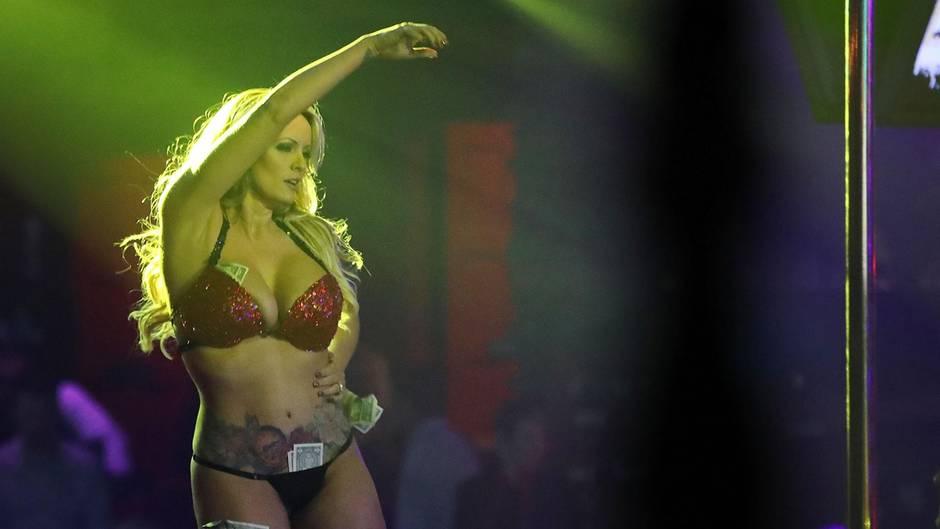 Affäre mit Trump: Stripperin, Pornostar und frühere Kandidatin für den US-Senat: Wer ist Stormy Daniels?