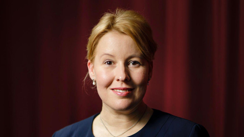 Familienministerin Franziska Giffey: Shootingstar der Bundesregierung