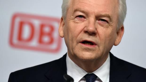 Der Ex-Chef der Deutschen Bahn, Rüdiger Grube