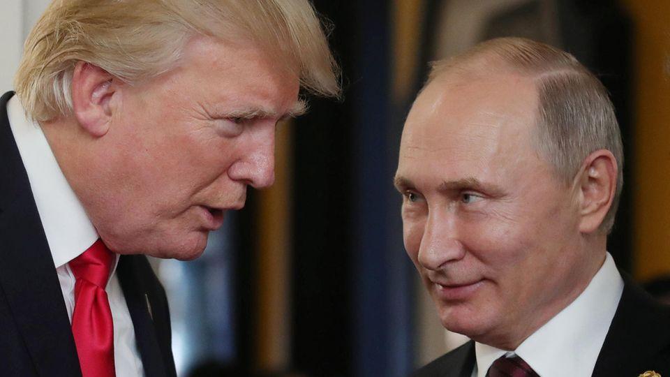 Trump verteidigt Putin-Glückwünsche - und teilt gegen seine Amtsvorgänger aus