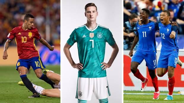 Deutschland will bei der WM 2018 in Russland den Titel verteidigen