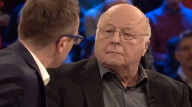 stern TV-Studiogespräch: Reicht Hartz IV zum Leben? Die Debatte zwischen Norbert Blüm und CDU-Politiker Alexander Krauß