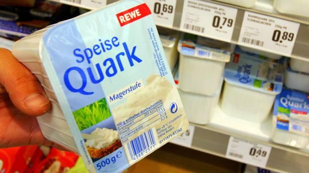 Speisequark der Rewe-Eigenmarke