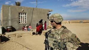 Ein US-Soldat im Irak