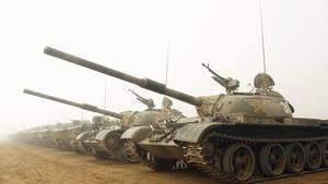 Der Großteil der chinesischen Panzer ist veraltet.