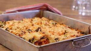 Auflauf überbacken mit Käse