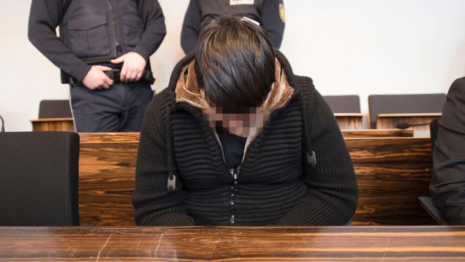 Hussein K. im Freiburger Landgericht