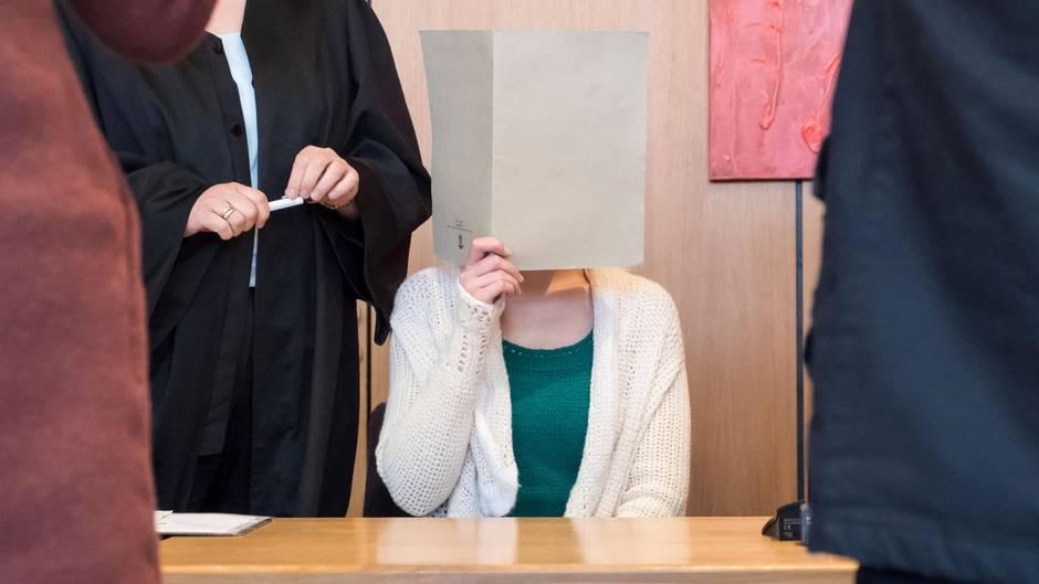 Vor Gericht bestritt die junge Frau bis zuletzt die Tat
