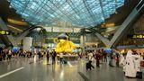 Platz 5:Hamad International Airport  Nicht Dubai oder Abu Dhabi, sondern der neue Flughafen von Katar und Basis für Qatar Airways landete als einziger Airport aus der Golfregion unter den Top 10.