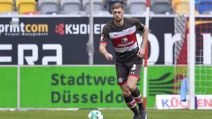 Lasse Sobiech während eines Spiels des FC St. Pauli