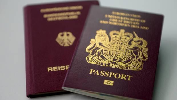 Künftig ohne EU-Verweis: der britische Reisepass