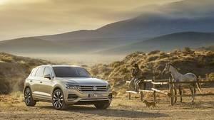 Den VW Touareg III wird es natürlich auch wieder mit Allradantrieb geben