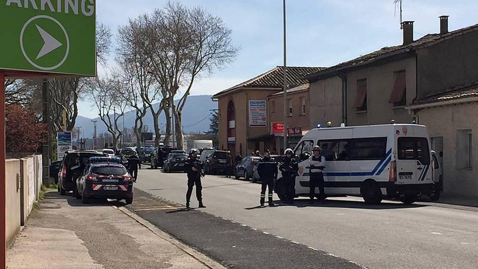 Trèbes bei Carcassonne: Geiselnahme in Frankreich beendet - Polizei setzt Geiselnehmer außer Gefecht