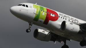 Eine Maschine der TAP Air Portugal.